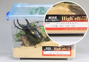 新タイプ 昆虫ゼリー High effec使用例